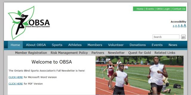 Ontario Blind Sports Association